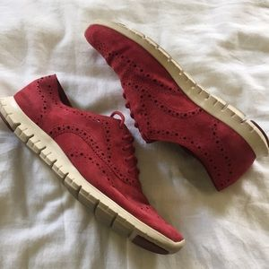Cole Hana Grand 0s Red Suede